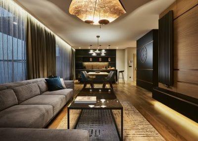 Натурален дъб, проект за клиент на Tanne Design