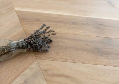 Дъб шеврон, Flax на Coswick