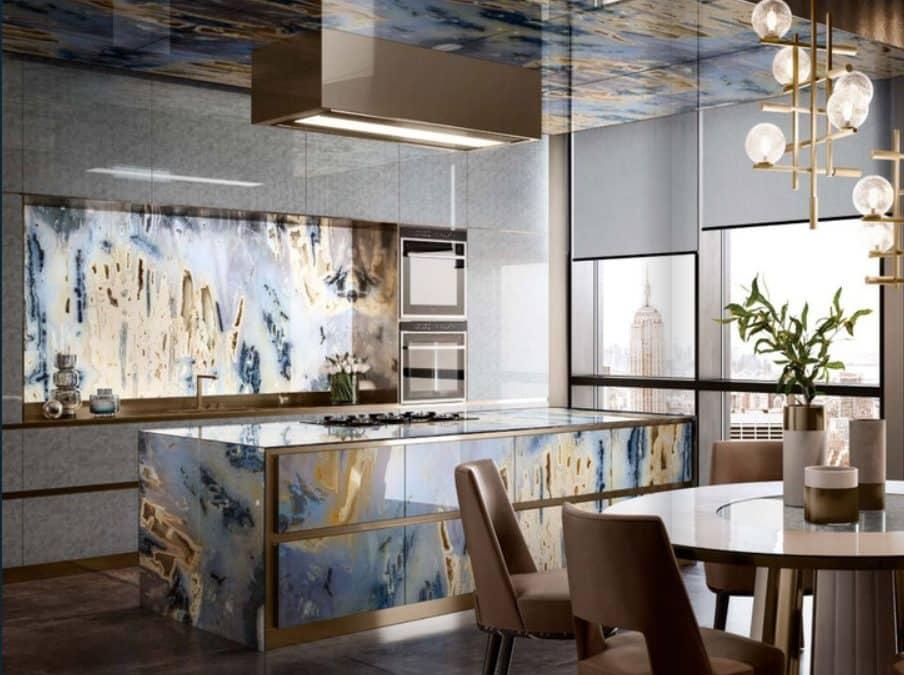 Мозайката на Sicis − вдъхновение и за кухнята