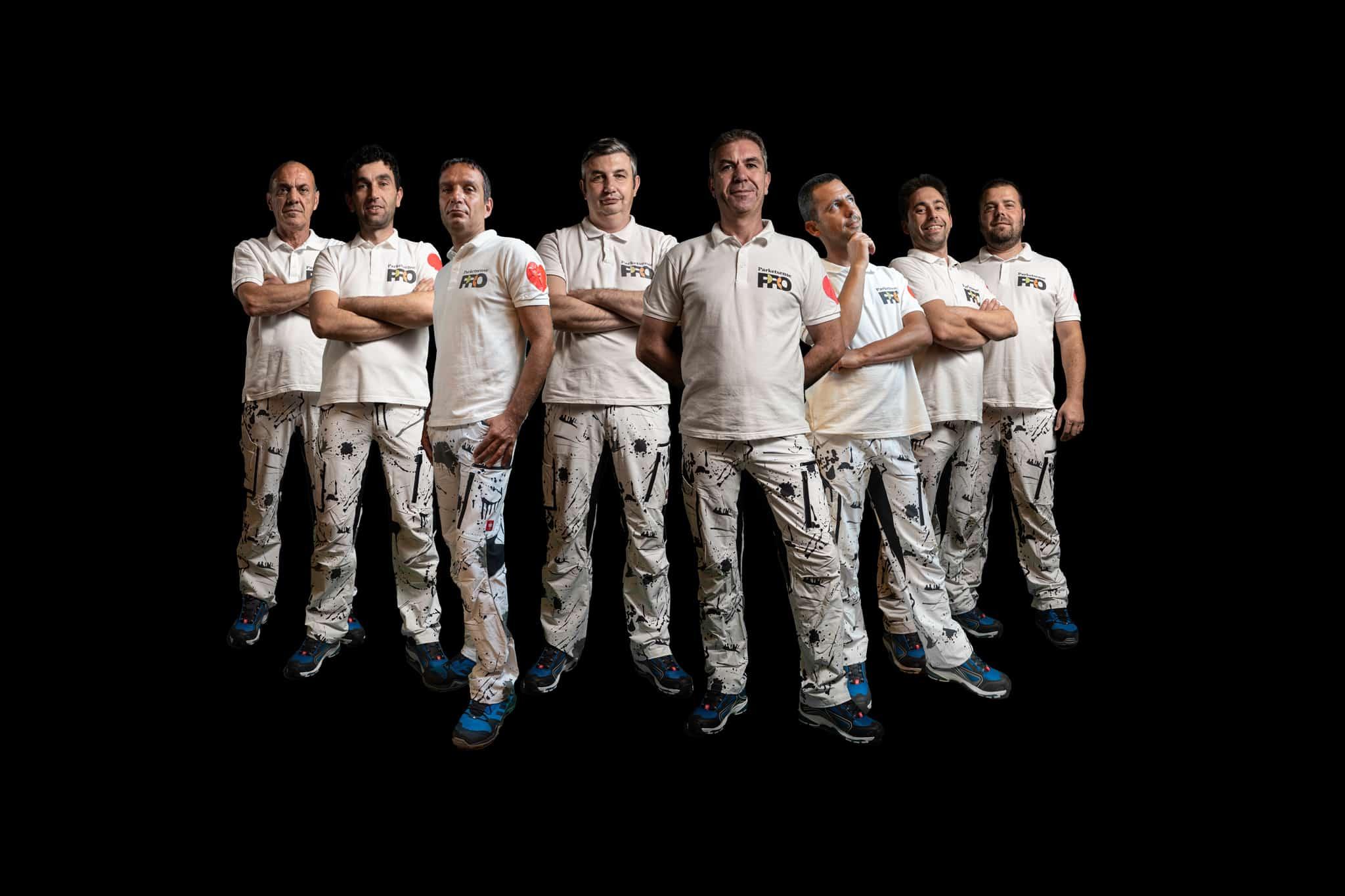 Екипът на Паркетсенс ПРО