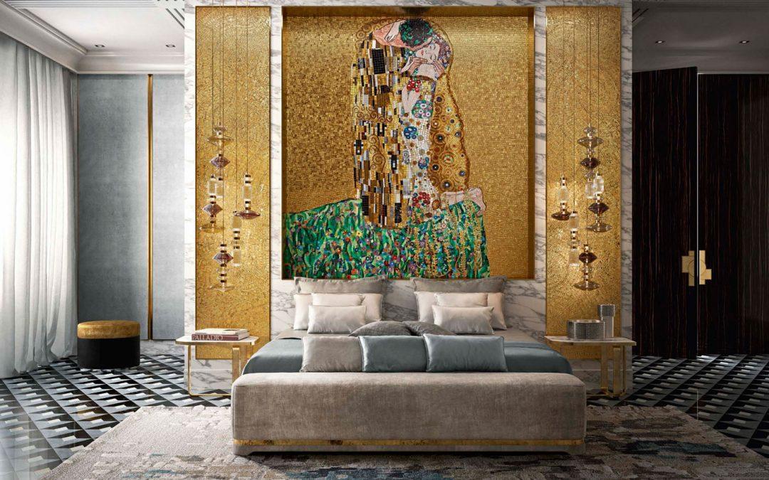 Идеи за интериора на спалнята от проекти на Sicis
