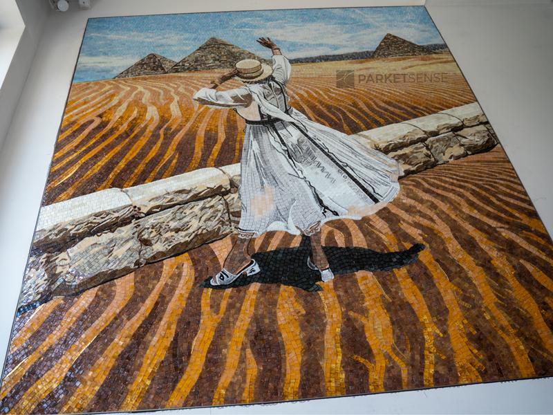 пано с художествена мозайка