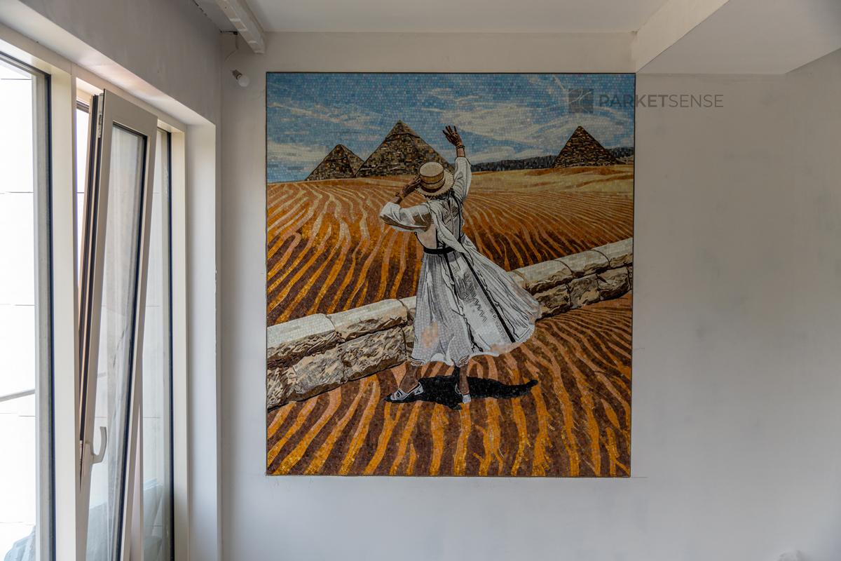художествена мозайка на Sicis